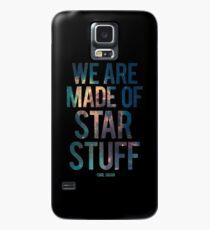 Nous sommes faits de Star Stuff - Citation de Carl Sagan Coque et skin Samsung Galaxy
