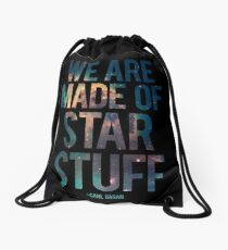 We Are Made of Star Stuff - Carl Sagan Quote Turnbeutel
