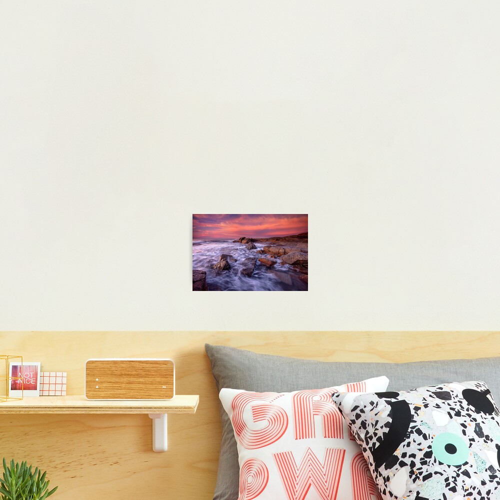 Sunset over Gracetown Photographic Print