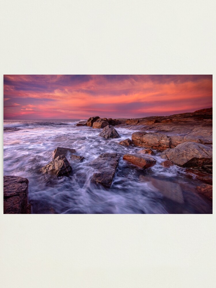 Alternate view of Sunset over Gracetown Photographic Print