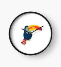 Toucan Bird Clock
