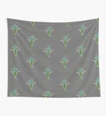 April Showers Bring Mayflowers  Wall Tapestry