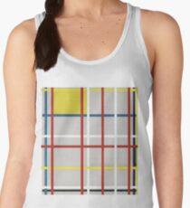 Camiseta de tirantes para mujer Piet Mondrian, Ciudad de Nueva York, 3 (sin terminar) 1941 Obras de arte, Estampados, Posters, Camisetas, Bolsos, Hombres, Mujeres, Niños