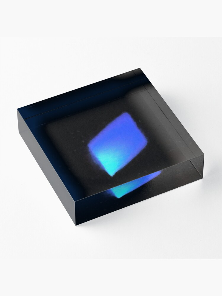 Alternate view of Crystal Reflection Acrylic Block