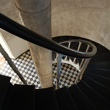Lighthouse stairs by alke