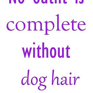 Dog Hair by funflirtydesign