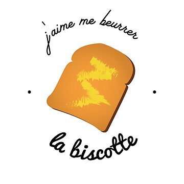 I love to butter the biscotte - OSS 117 by Soronelite