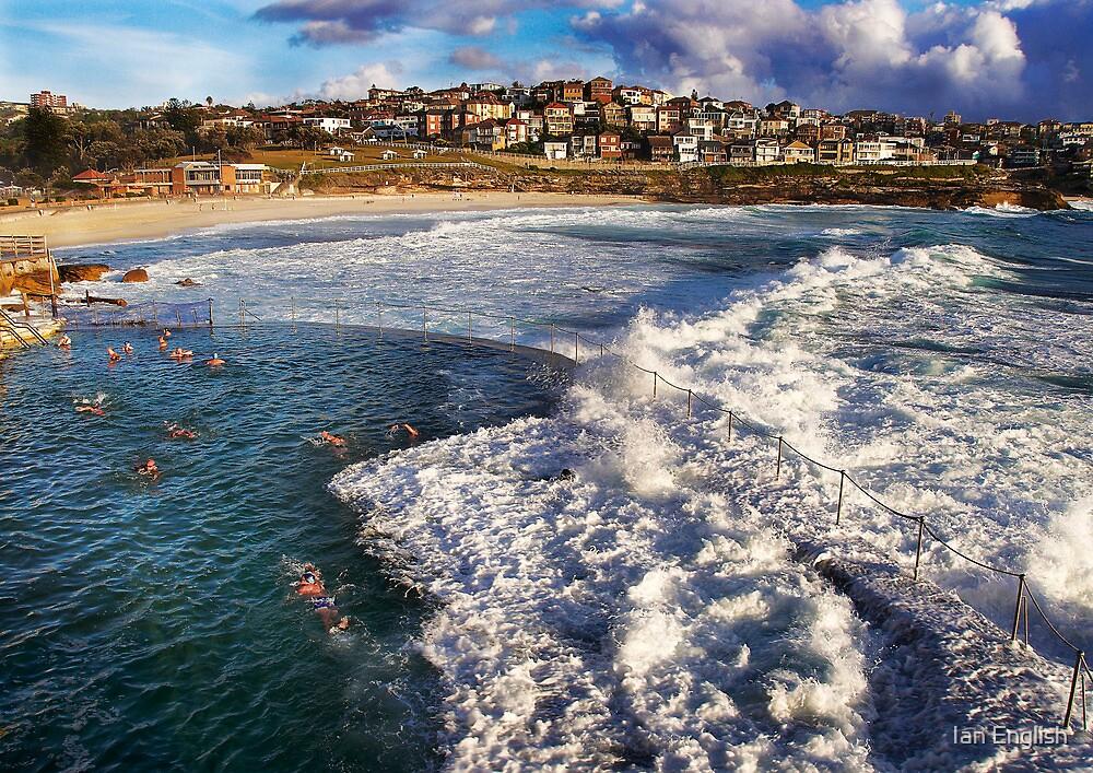 Bronte Ocean Baths by Ian English