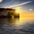 Pictured Rocks Sunset by Kathy Weaver