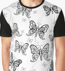 Just Add Colour -Butterfly Sparkle Graphic T-Shirt