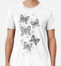 Just Add Colour -Butterfly Sparkle Premium T-Shirt