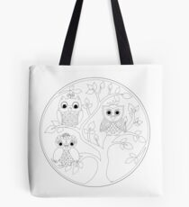 Just Add Colour - Tree of Knowledge  Tote Bag