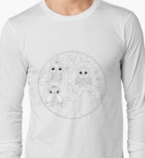 Just Add Colour - Tree of Knowledge  Long Sleeve T-Shirt