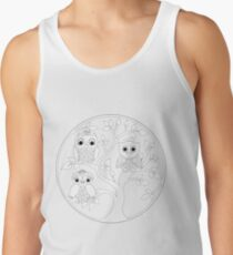 Just Add Colour - Tree of Knowledge  Tank Top