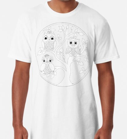 Just Add Colour - Tree of Knowledge  Long T-Shirt