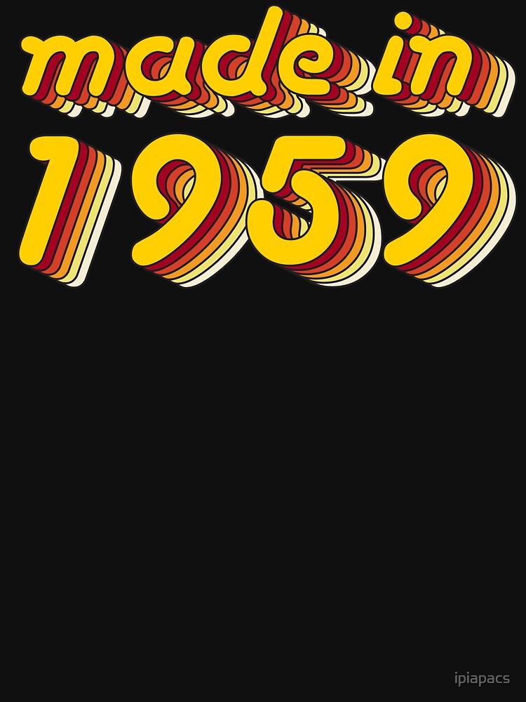 Made in 1959 (Yellow&Red) by ipiapacs