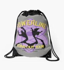 Vintage Powerline Concert Logo - A Goofy Movie Drawstring Bag