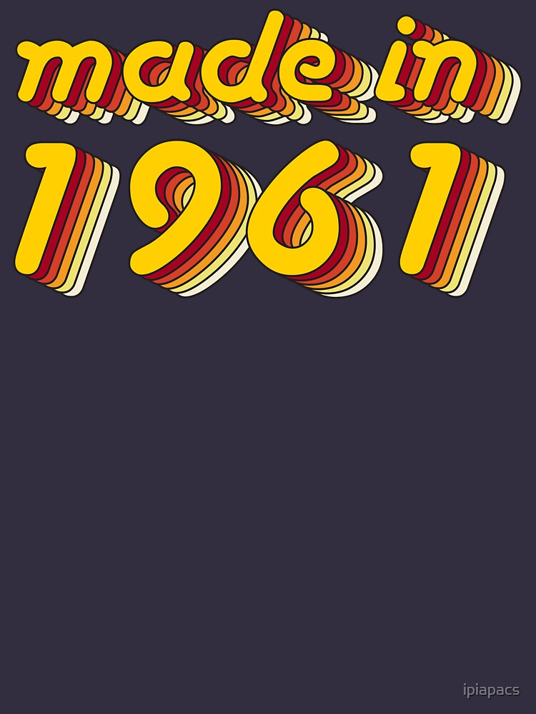Made in 1961 (Yellow&Red) by ipiapacs