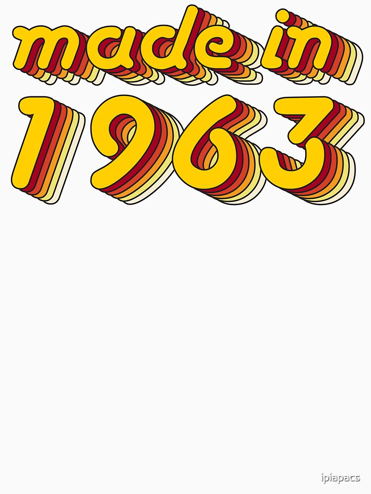 Made in 1963 (Yellow&Red) by ipiapacs