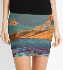 Landscape Collage #126 Mini Skirt