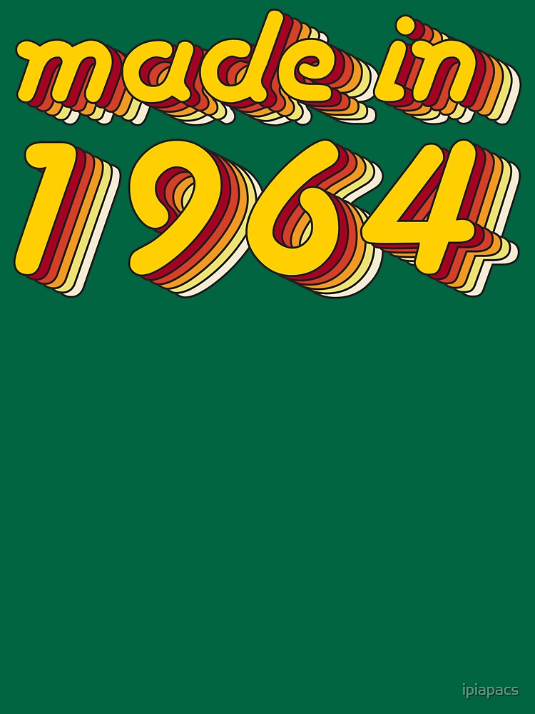 Made in 1964 (Yellow&Red) by ipiapacs