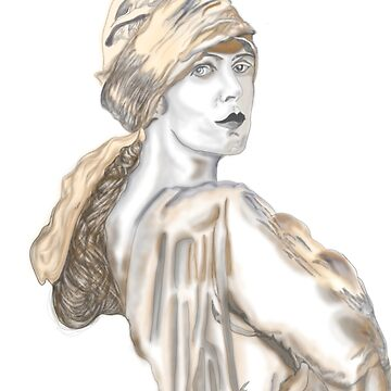 1920's vintage lady by jackpoint23
