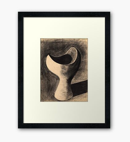 The Yearning (in sepia) Framed Print