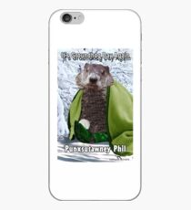 It's Groundhog Day Again iPhone Case