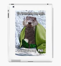 It's Groundhog Day Again iPad Case/Skin