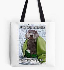 It's Groundhog Day Again Tote Bag