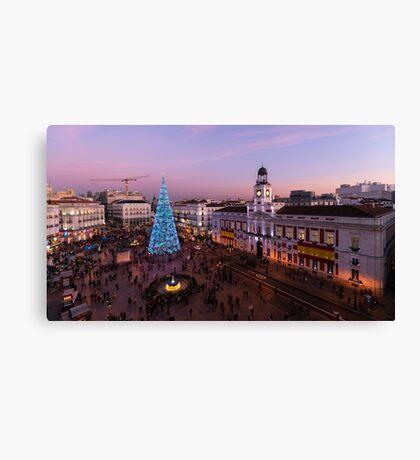 Puerta del sol - Madrid Canvas Print