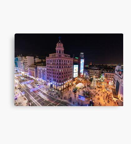 Madrid - Callao Canvas Print