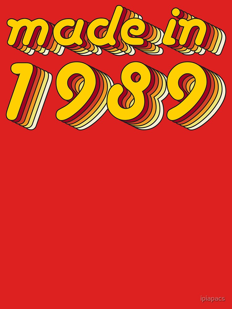 Made in 1989 (Yellow&Red) by ipiapacs