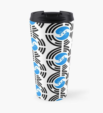 Korean Honduran Multinational Patriot Flag Series Travel Mug