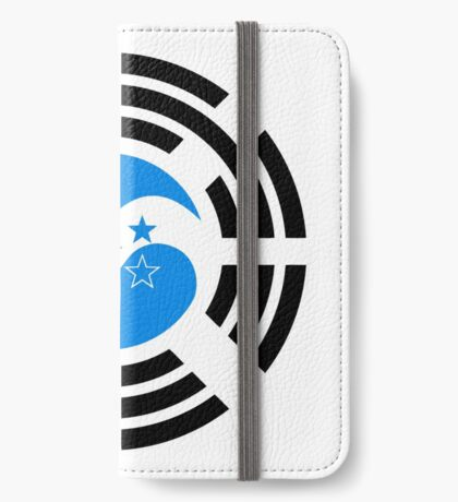 Korean Honduran Multinational Patriot Flag Series iPhone Wallet