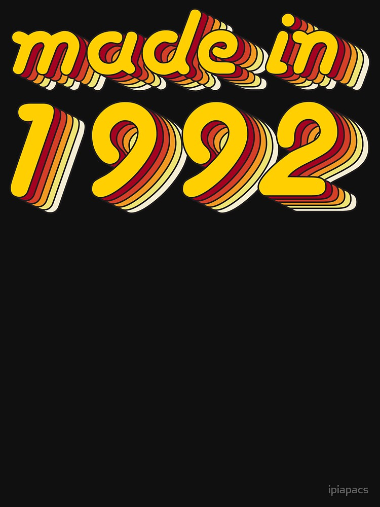 Made in 1992 (Yellow&Red) by ipiapacs