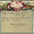 1936 Post Office Greetings Telegram by Woodie