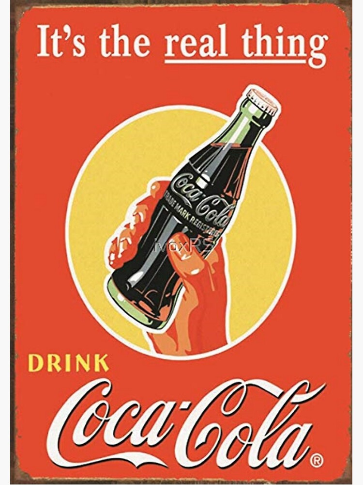 the real coca cola | Poster
