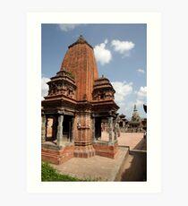 Bhaktapur durbar square Art Print