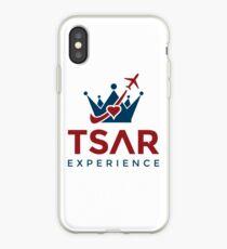 Tsar Experience Logo sans Circle design iPhone Case