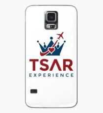 Tsar Experience Logo sans Circle design Case/Skin for Samsung Galaxy