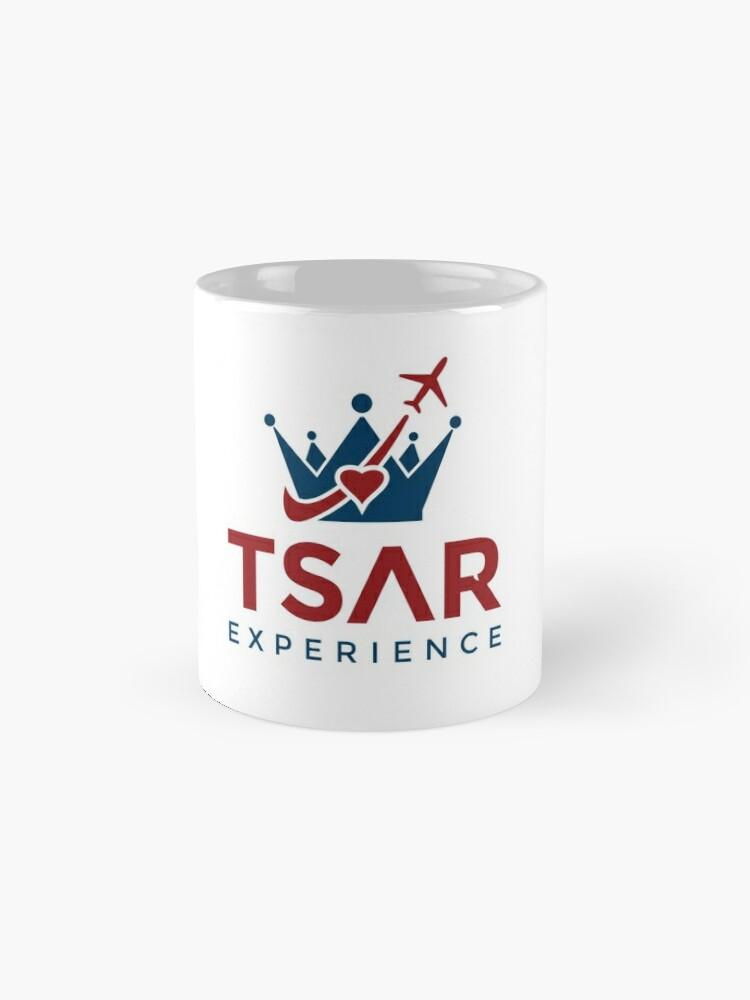 Alternate view of Tsar Experience Logo sans Circle design Mug