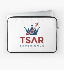 Tsar Experience Logo sans Circle design Laptop Sleeve
