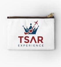 Tsar Experience Logo sans Circle design Studio Pouch