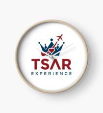 Tsar Experience Logo sans Circle design Clock
