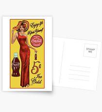 Coca Cola Red Postcards