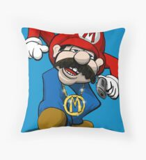Mario-From Phillie . . . .  Throw Pillow