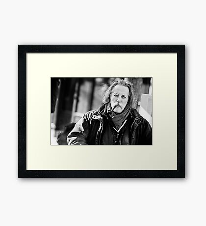 The philosopher Framed Print