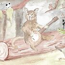 Banjo Cat by WildernessStore