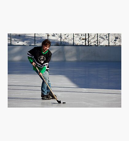 Pond Hockey I Photographic Print